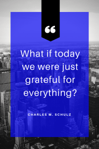 grateful gratitude