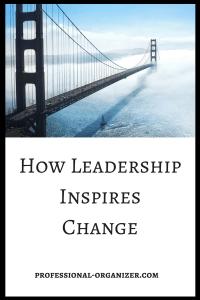 leadership inspires change