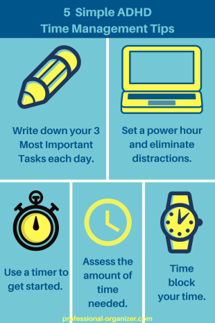5 simple adhd time management tips