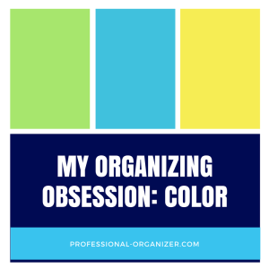 Organizing by color