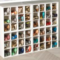 shoe organizer grid