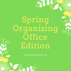 Spring organizing office