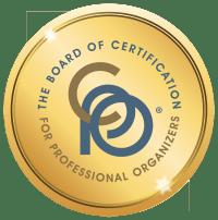 Certified Professional Organizer