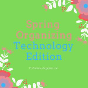 spring organizing technology