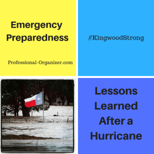 emergency preparedness lessons learned