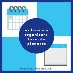 professional organizers' favorite planners