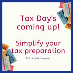 simplify your tax preparation