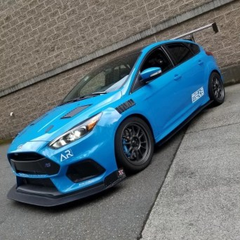 Ford Focus with Professional Awesome Racing Fender Vents 2