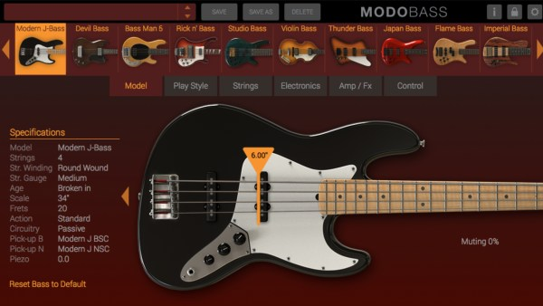 MODO Bass - Electric Bass VST