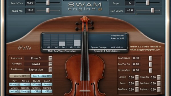SWAM Strings VST Bundle