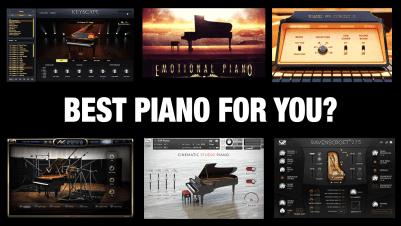 10 Best Piano VST Plugins & Sample Libraries