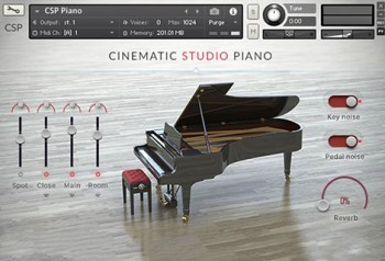 Cinematic Studio Piano Piano VST