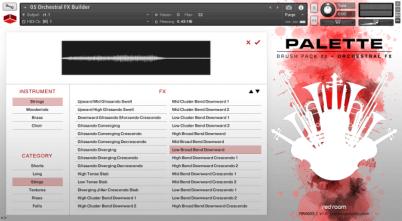 Palette Orchestral FX