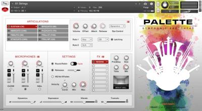Palette Symphonic Sketchpad