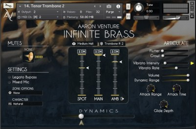 Infinite Brass VST Sample Library