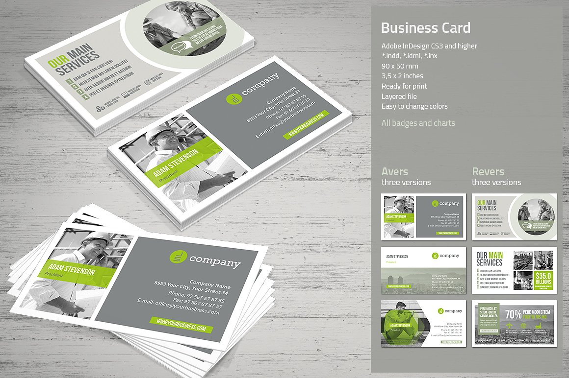 Business card vol 2 by mrtemplater mrtemplater print templates business card template friedricerecipe Gallery