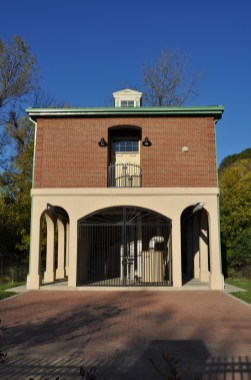 Custom Arched Double-Drive Swing Gates