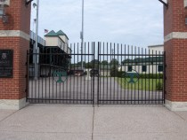 Customized Swing Gates at Trinity High School