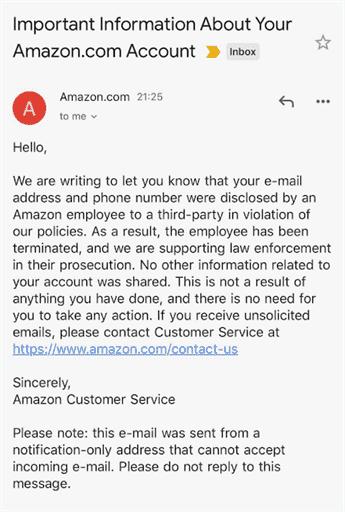 Amazon Fires Employees