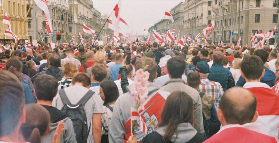 Belarus protests Minsk