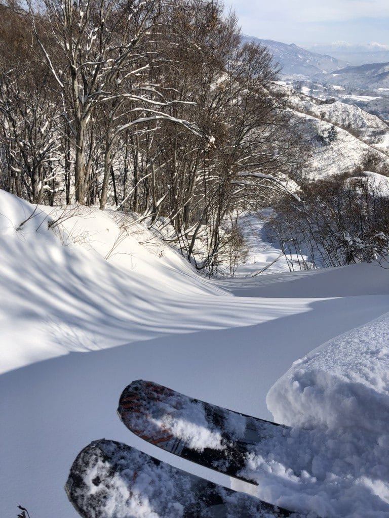 Togari Onsen Fresh Snow