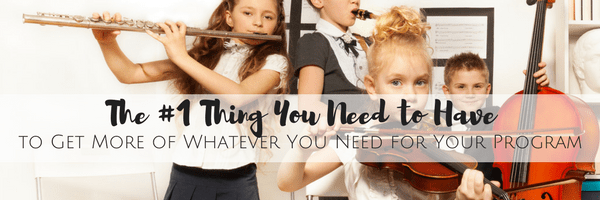 The #1 Thing You Need to Have to Get More of Whatever You Need for Your Program