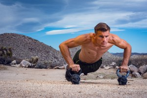 Kettlebell Push Ups To Build Shoulders