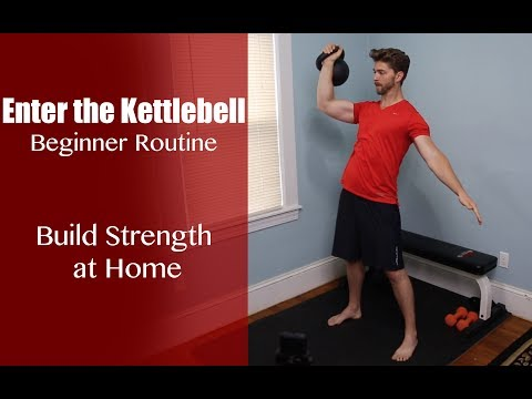 Enter The Kettlebell – Beginner Kettlebell Ladder Routine
