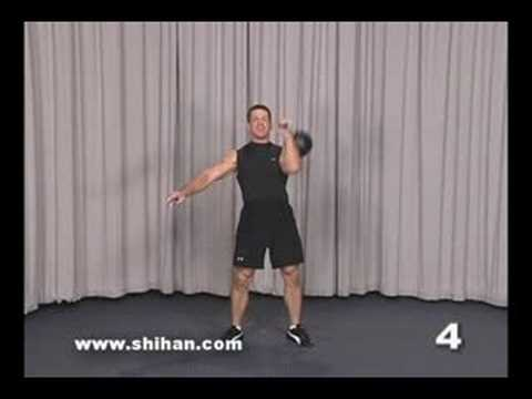 Steve Cotter Kettlebell Combo Make a choice Tidy Squat Press