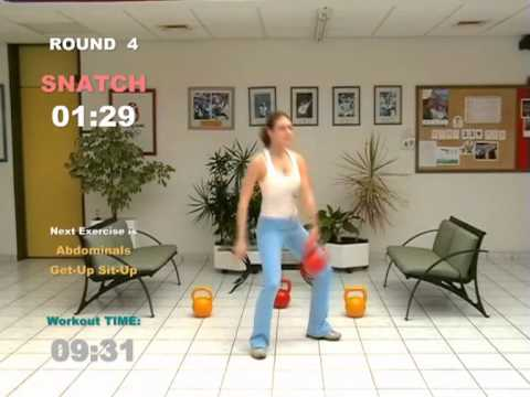Kettlebell 15 Minutes Cardio Workout for Extream Fat Loss – CARDIO MACHINE © ® 2006 2008