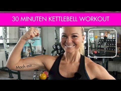 Kettlebell Workout für zuhause – Ganzkörpertraining