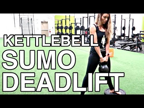 KETTLEBELL SUMO DEADLIFT TUTORIAL | lower body power practicing exercise | Human 2.0