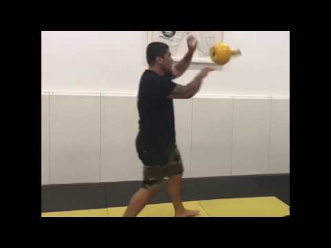 Kettlebell lag along with the movement cool-down