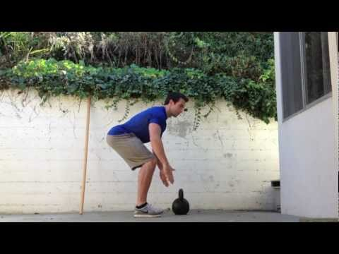Systems to Kettlebell Deadlift: Kettlebell Basics with Hip Hinge