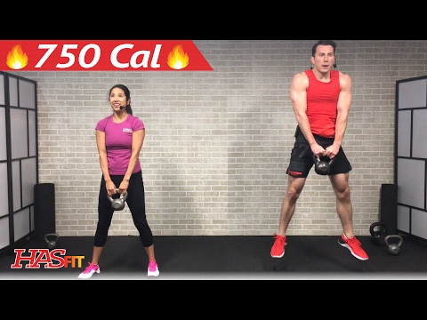 Forty five Min HIIT Kettlebell Exercises for Plump Loss & Strength – Kettlebell Exercise Coaching Exercises