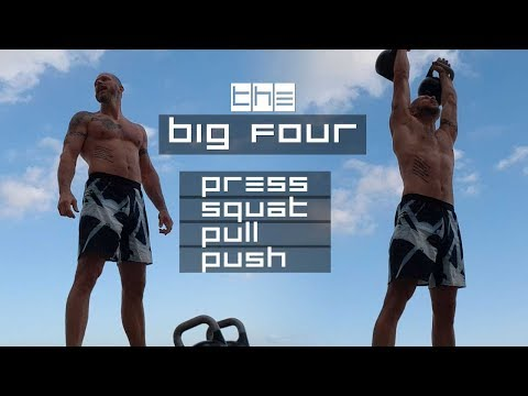 Kettlebell Energy Workout – THE BIG FOUR