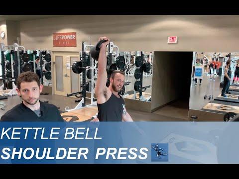 Kettlebell Overhead Press