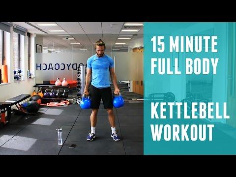 Full Body Kettlebell Workout | The Body Coach