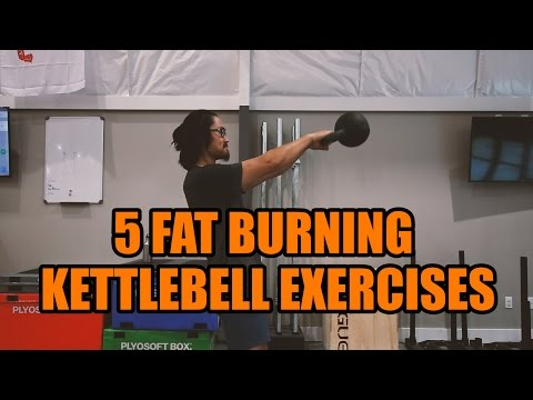 5 Kettlebell Exercises for Weight Loss | Tutorial Tuesday