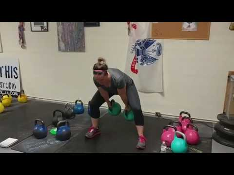 Kettlebell Coaching for Females : What Weight to Seize for Swings?