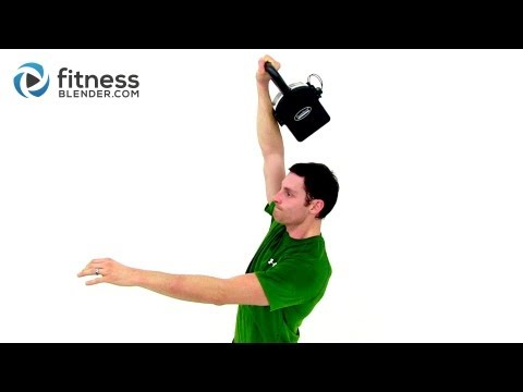 Kettlebell Stutter Routine for Strength – 15 Minute Kettlebell Coaching with Fitness Blender