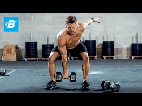 Closing Paunchy-Body Dumbbell Workout   Andy Speer