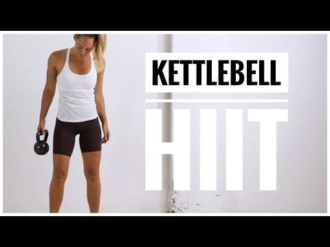 KETTLEBELL HIIT Exercise // Elephantine Body HIIT Circuit