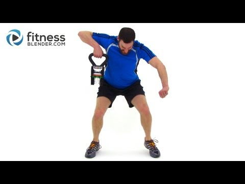 Beefy Length KettleBell Notify Video – Entire Physique Kettlebell Routine