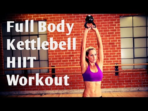 32 Minute Elephantine Physique Kettlebell HIIT Exercise For Energy & Cardio