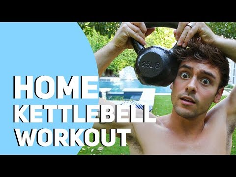 HOME KETTLEBELL WORKOUT #3 *10 Minutes* I Tom Daley