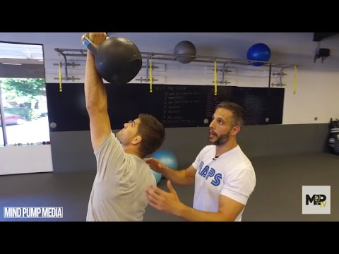 BJJ/MMA Hip & Core Strength- Turkish Ranking-Up Kettlebell Pronounce  (Video 3 of three)