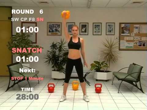 Kettlebell 60 Minutes Cardio Workout for Extream Plump Loss – CARDIO MACHINE © ® 2006 2008