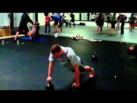 The Kettlebell Sandwich Complicated for Energy, Energy, and Conditioning