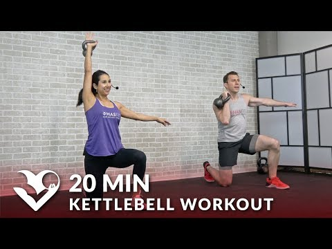 20 Minute Kettlebell Issue – HIIT Kettlebell Exercises for Stout Loss & Energy Exercises